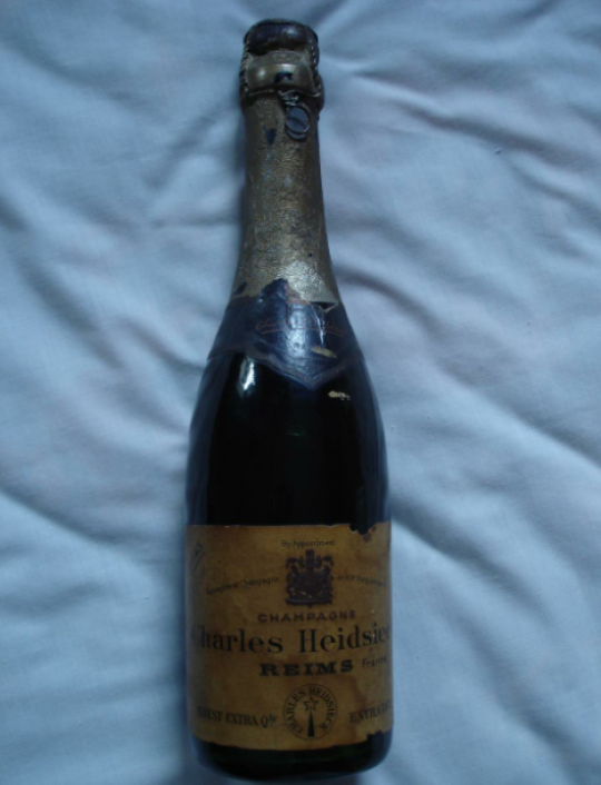 Most Expensive Champagne Shipwrecked 1907 Heidsieck