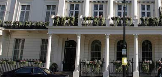 Joseph Lau buys a home in Eaton Square