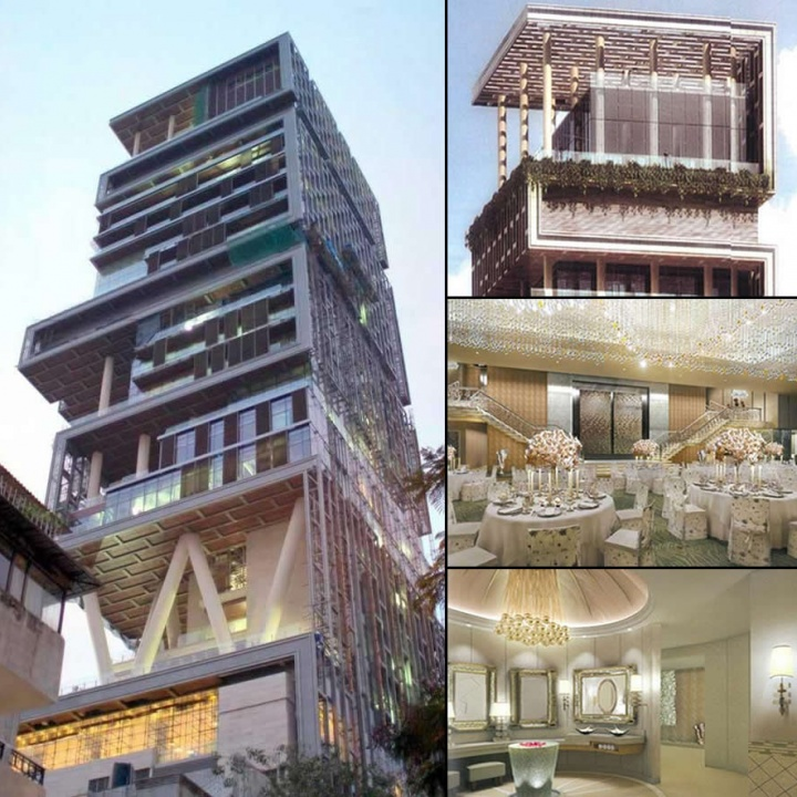 Antilia - World's Most Expensive House Built