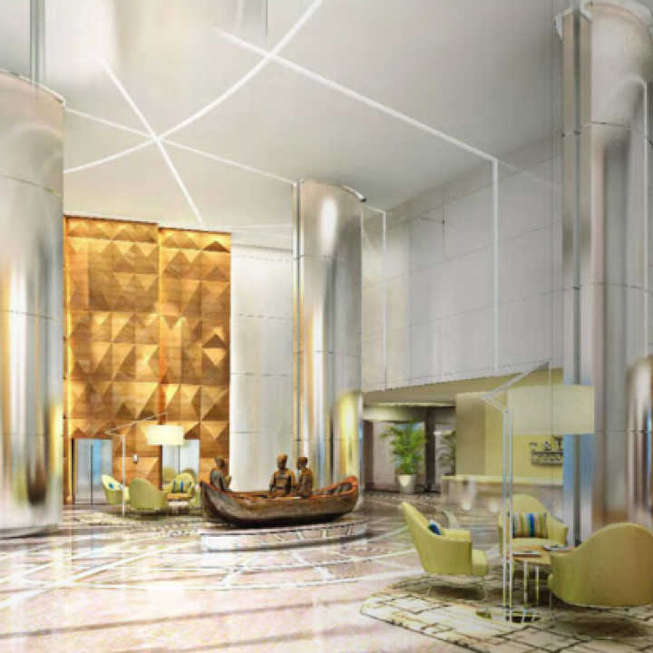 Trump Ocean Club, Panama - Interiors