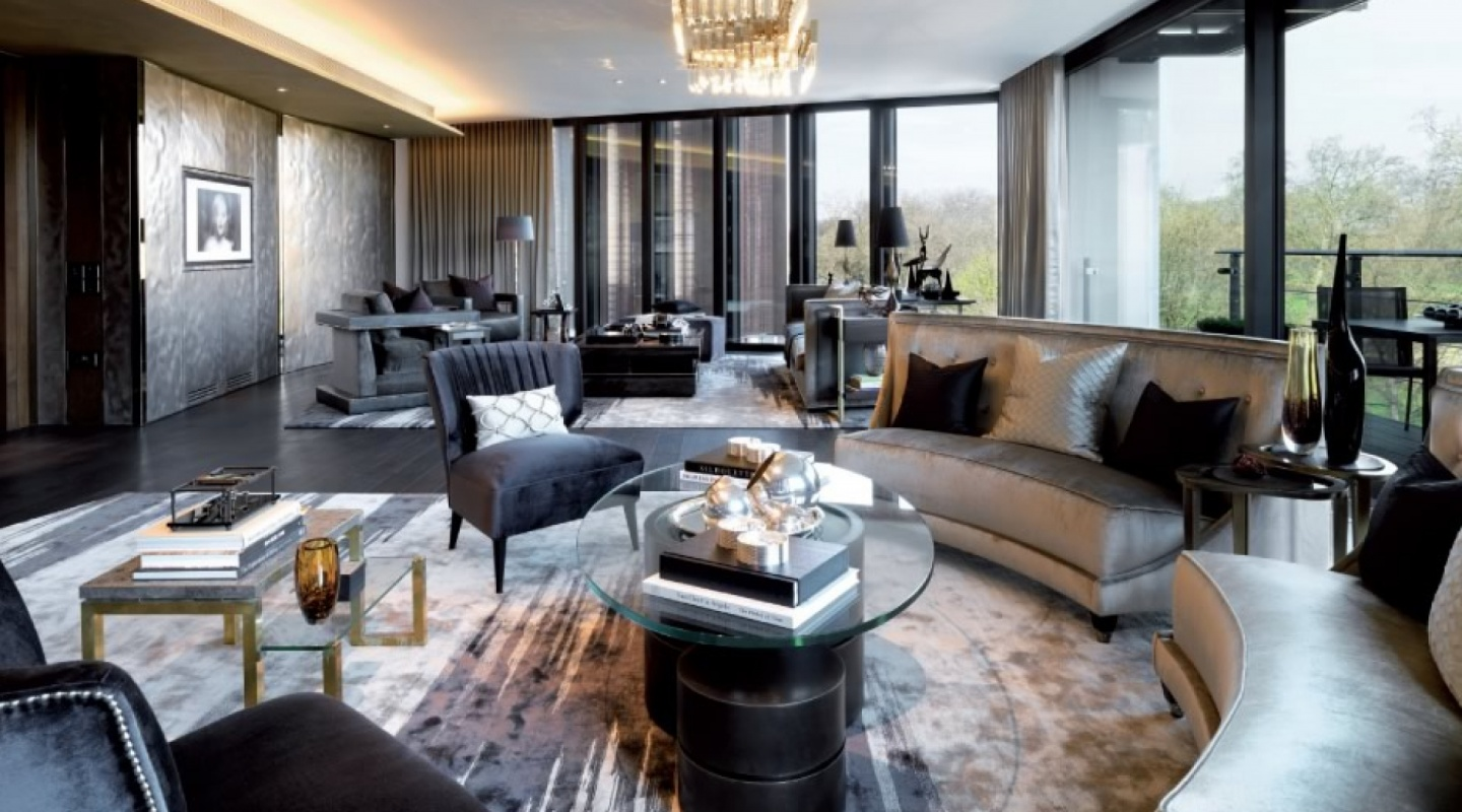 Interiors of One Hyde Park, London