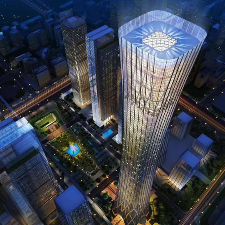 New tallest tower for Beijing, China