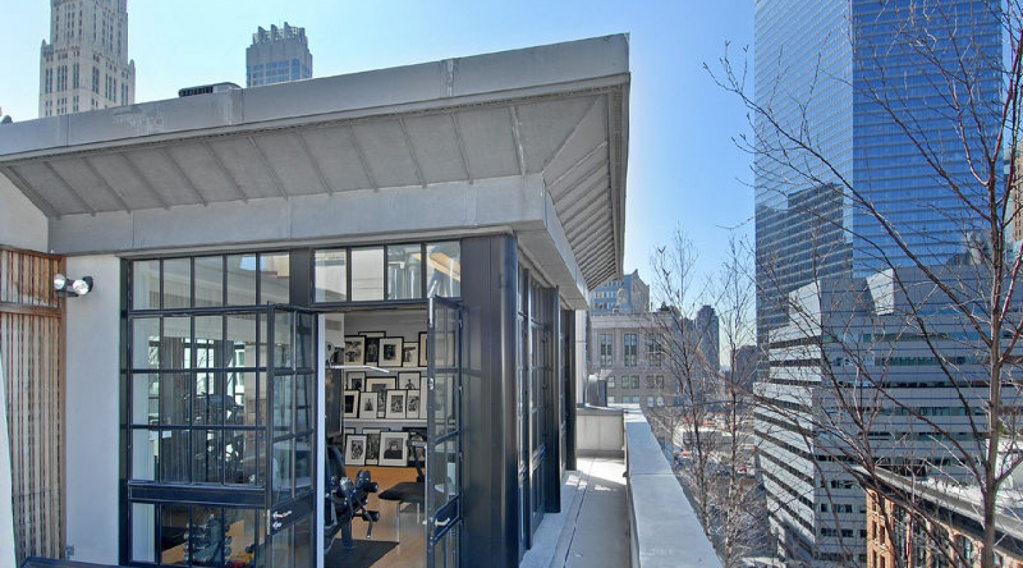Tribeca penthouse in new york verzun luxury real estate for High end real estate nyc