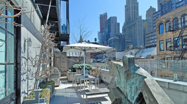 Tribeca penthouse in new york verzun luxury real estate for Tribeca new york real estate