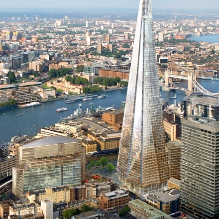 Shard London Bridge skyscraper