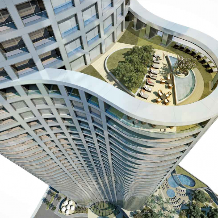 World One - World's Tallest Residential Rower