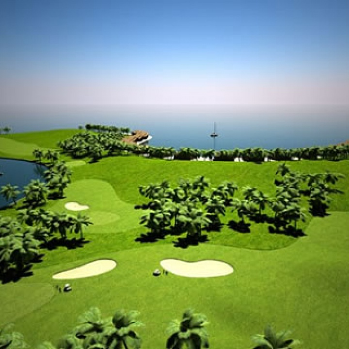 World's First Floating Golf Course Planned for Maldives