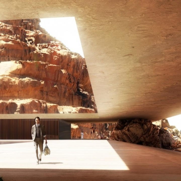 The Wadi Rum Resort in Jordan