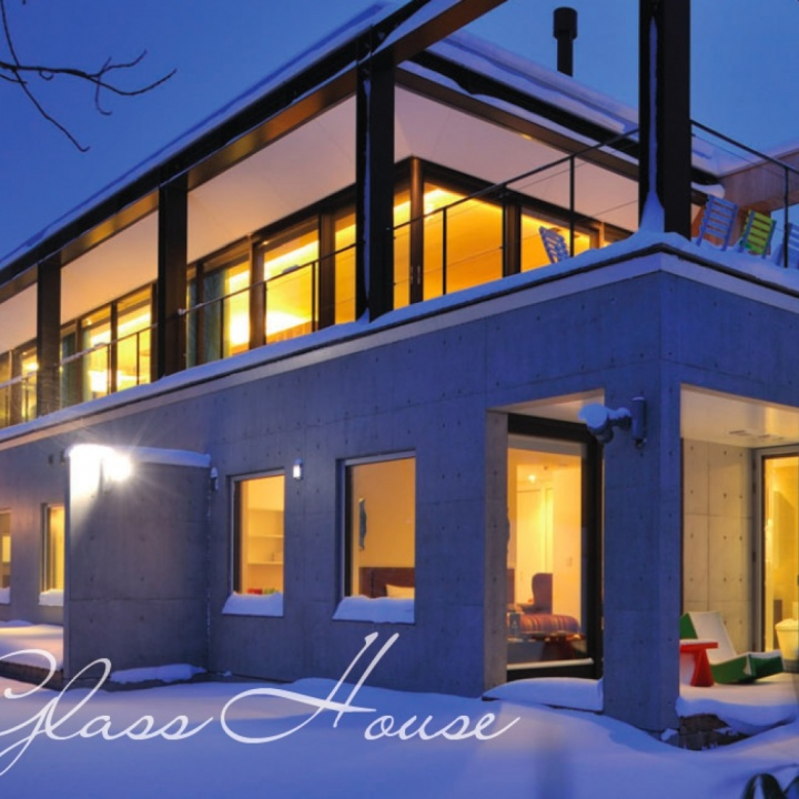 The Glass House in Niseko, Japan