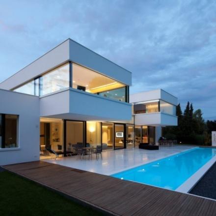 Villa in bogenhausen herzogpark - Architettura case moderne idee ...