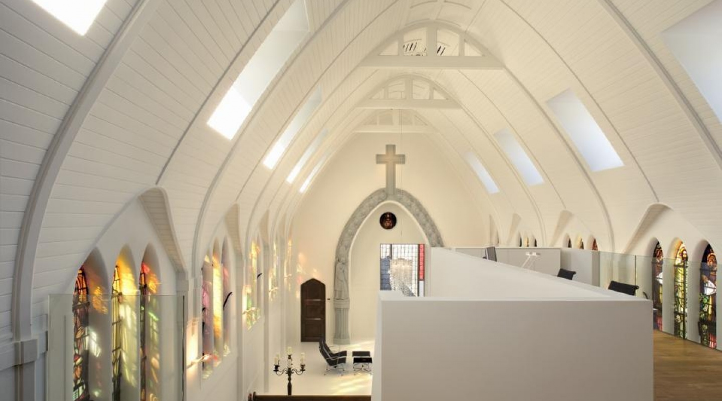 Catholic Church Is Transformed Into Residence In