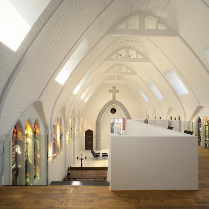 Conversion of a Church into residences in Utrecht, Netherlands