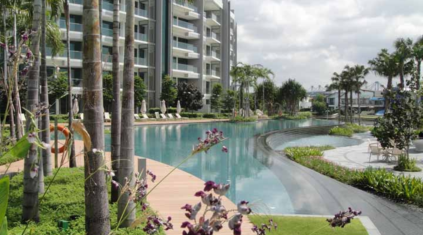 w residences pool view