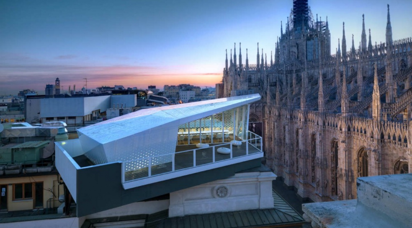 the cube in milan by park associati