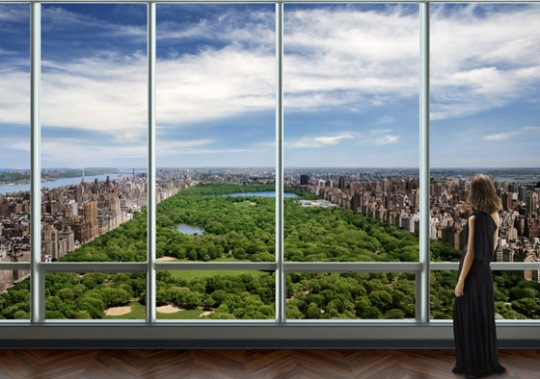 One 57 Duplex Penthouse in New York, $110 million