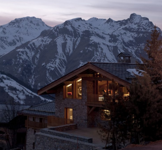 Chalet Beranger in the French Alps