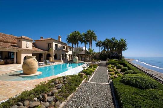 Beachfront Villa In Los Monteros Spain