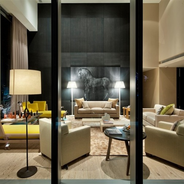 hermes decorated apartment in singapore 2