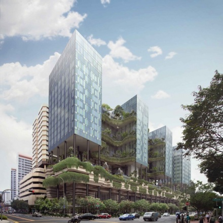 parkroyal hotel in singapore