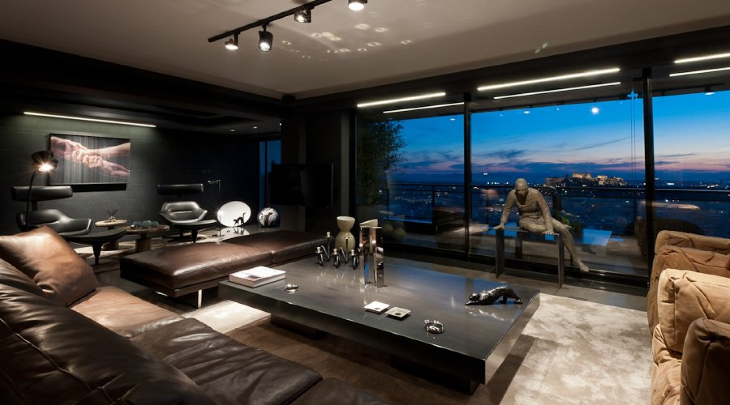 skyfall apartment in athens