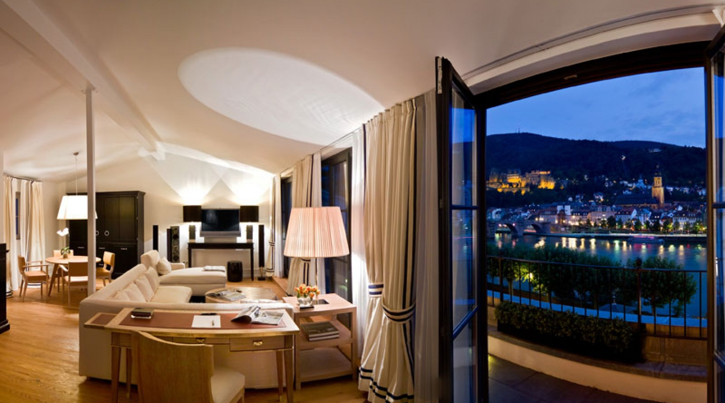 The heidelberg suites germany for Boutique hotel deutschland