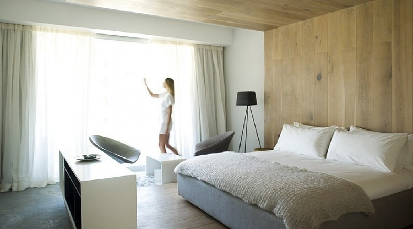 Pod boutique hotel for Boutique bedroom designs
