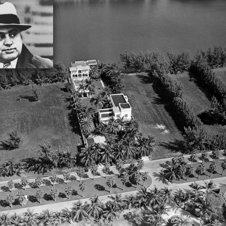Al Capone's former mansion in Miami Beach