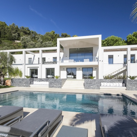 Contemporary Villa in Villefranche-sur-Mer, France