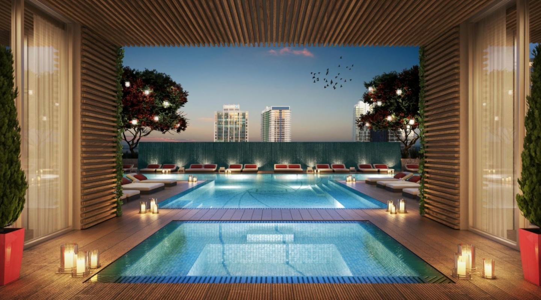 The bond at brickell for Appartement avec piscine paris
