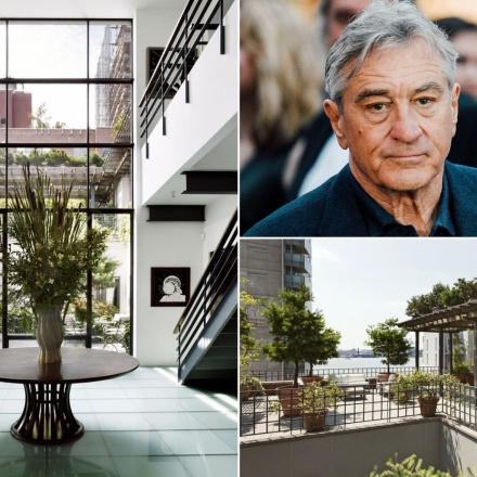robert de niro manhattan penthouse