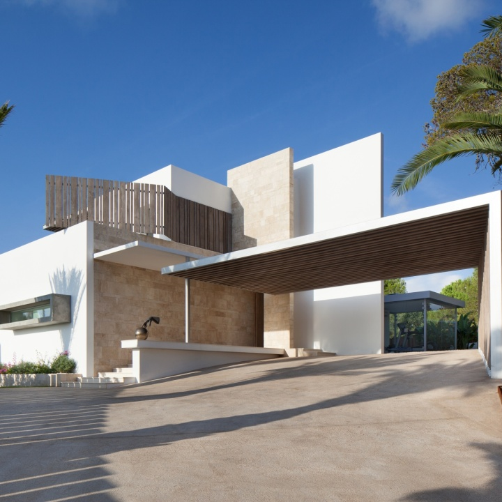 villa in ibiza by saota verzun